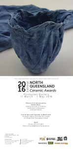 2016 ceramics awards invite